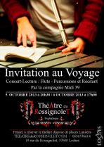 Affiche (A3) Concert-Lectrue CIE Midi 39