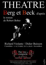 Affiche (A3) Théâtre Berg et Beck