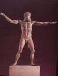 Poseidon  d'Artemision  bronze classique460 BC