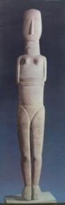 Sculpture cycladique