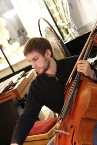 Photo cello + Adrien