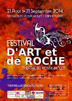 Affiche Festival d'Art et de Roche