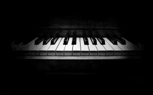 Piano_Wallpaper_b_w